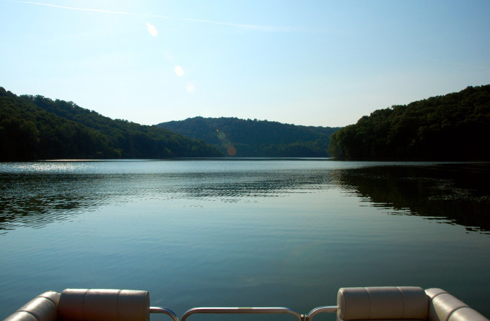 2) Burnsville Lake, which is located in Braxton County, is a flood control reservoir.