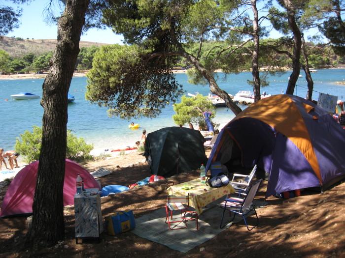 7. Camping