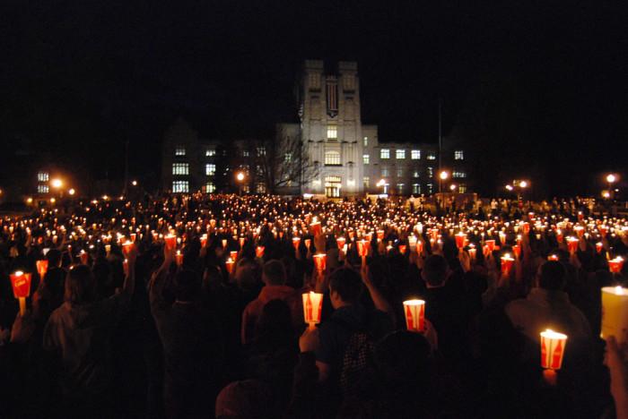 Candlelight Virgil, April 16, 2009