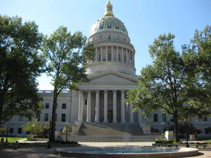 4) Tour the West Virginia State Capitol.