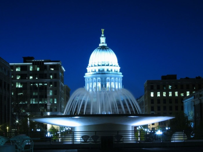 8. Madison State Capitol. Come take a tour of the beautiful capitol building.