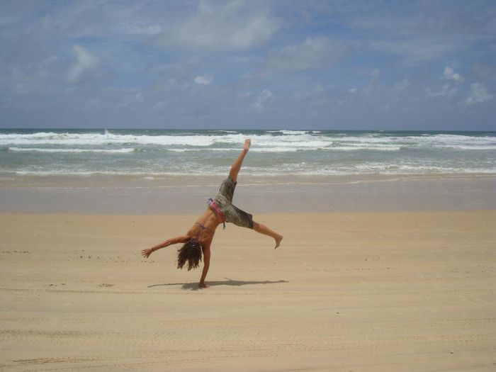 Most Cartwheels Performed Simultaneously