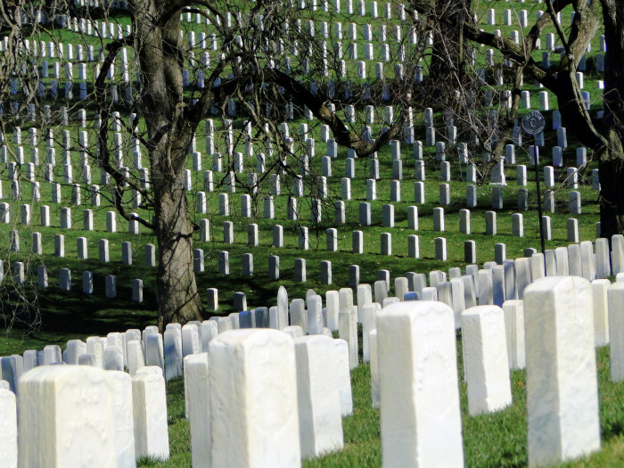 4. Cave Hill National Cemetery: It's the largest cemetery in Louisville by area and number of burials, need I say more?