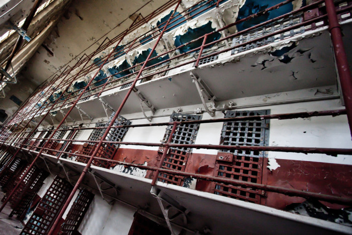 We have a feeling you wouldn't want to spend the night in this cell block...even when it was in working condition. Did you know that, 'Old Sparky' was housed here? The state electric chair was used in the execution of 125 people on the grounds.