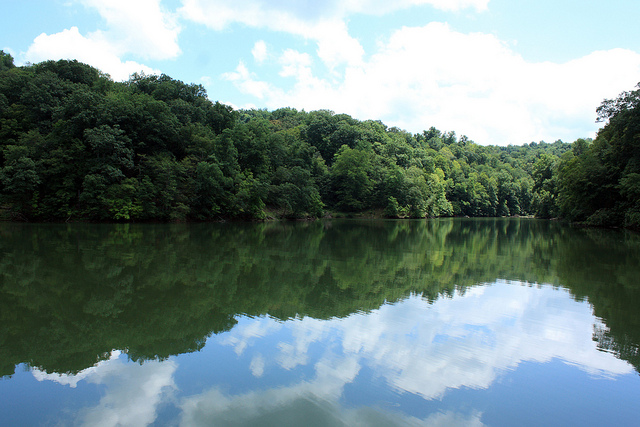 3) Cheat Lake is a 13-mile long reservoir located in Monogalia County.