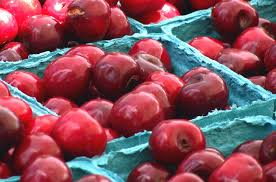 """12) Michigan cherries – more specifically, Traverse City is known as the """"Cherry Capital of the World."""" The annual National Cherry Festival was once named one of the Top 10 festivals in the country by USA Today and easily attracts half a million visitors each year."""