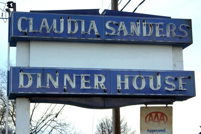 1. Claudia Sanders Dinner House