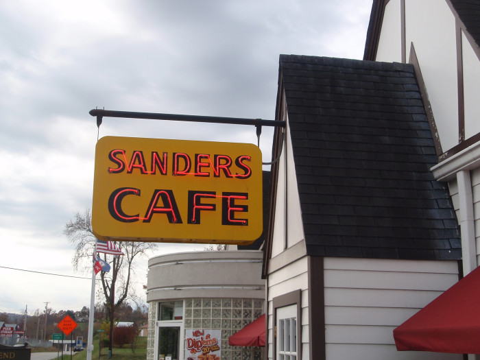 10. Go to the birthplace of Colonel Sander's famous chicken recipe at the Harland Sanders Cafe and Museum in Corbin