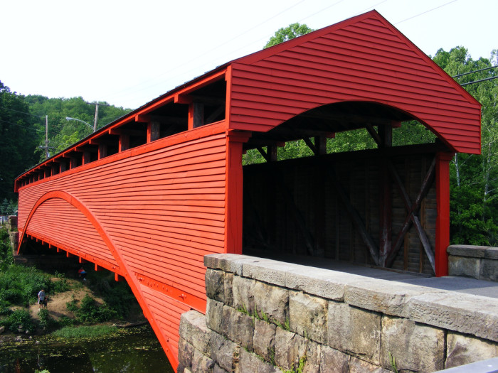 1) Our covered bridges are gorgeous!