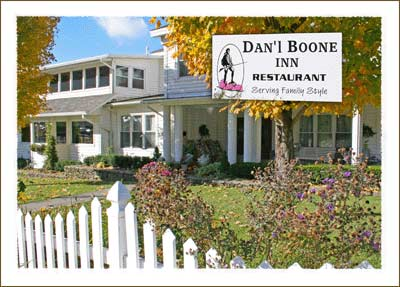 3. Nothing can match the southern comfort food at Daniel Boone Inn