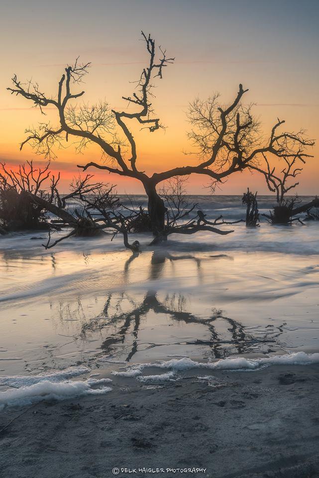 1. North Beach sunrise on Hunting Island.