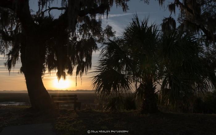 4. Sunrise over Port Royal, SC.