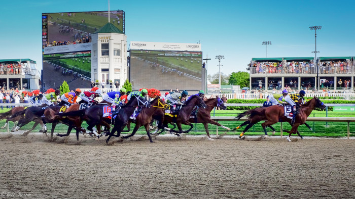 3. The Kentucky Derby: Home of the two most exciting minutes in sports history.