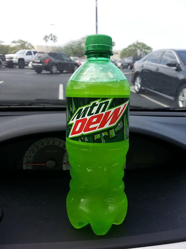 2. They're seemingly always drinking Mountain Dew.