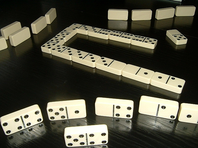 14.) Dominoes must not be played on Sundays.