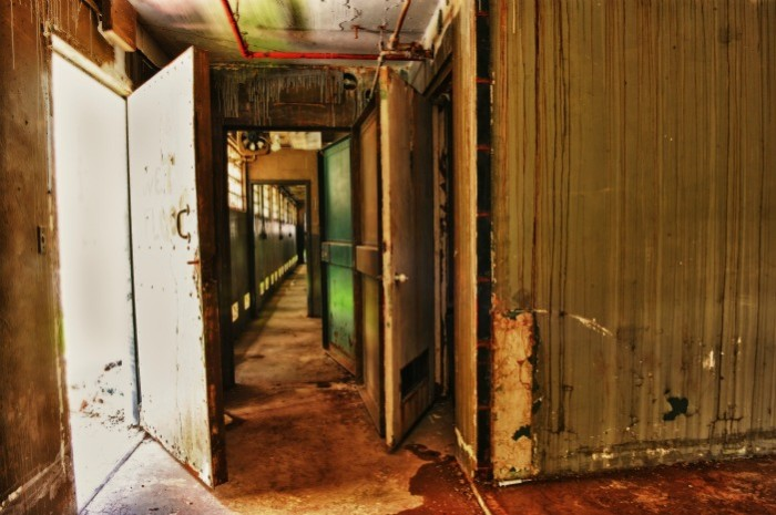 This is the TSP green mile, everyone. Where Old Sparky reigned and days were numbered. It's the last view over one hundred men ever saw.