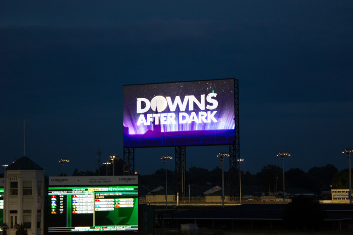 2. Go To A Horse Race…At Night