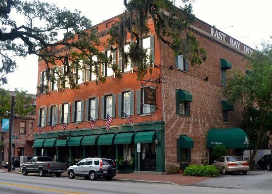 8. East Bay Inn in Savannah, Georgia