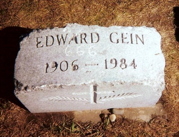 """2. Ed Gein. He went by """"The Planfield Ghoul"""" and """"The Mad Butcher."""" Gein operated out of Plainfield, Wisconsin, around where he was born in 1906. Police discovered that Gein had taken corpses out of local cemeteries  and made keepsakes out of their flesh. He also killed at least two people from Wisconsin. Gein was incarcerated in the Mendota Mental Health Institute, where he died."""