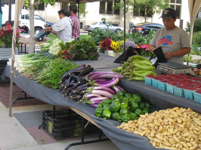 9. Farmers markets. This fresh produce is some of the best in America.