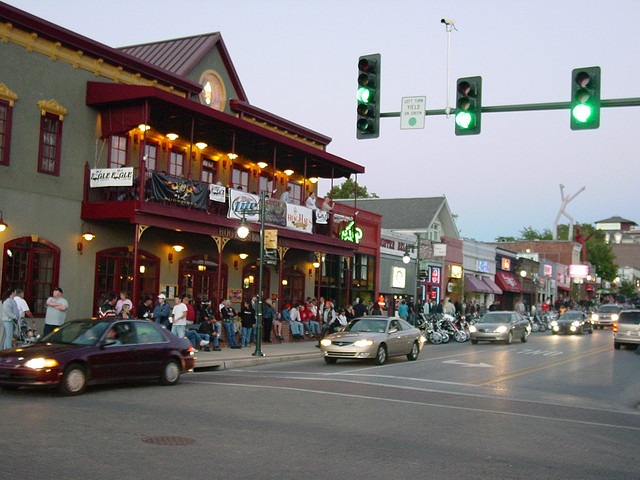 """10. Dickson Street in Fayetteville - The """"main drag"""" of this college town, Dickson St. is a great place to see and be seen in Arkansas's fastest-growing town."""