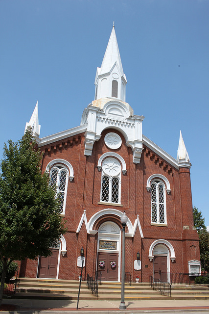 4) This First Baptist Church is located in Parkersburg, WV.