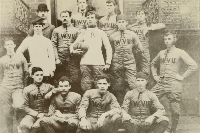 4) The first football team of West Virginia University began in 1891 and the first basketball team began in 1903.