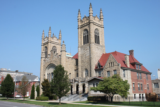 5) This First United Methodist Church is located in Huntington, WV.