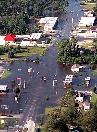 6. Hurricane Floyd was the deadliest hurricane to ever hit the NC Coast.