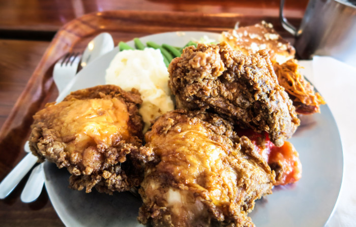 13. You just like food in general. There's down-home country cookin' or fine dining within reach in just about every part of the state.