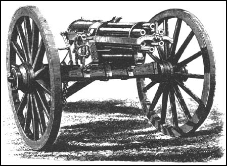9. The Gatling Gun, 1861