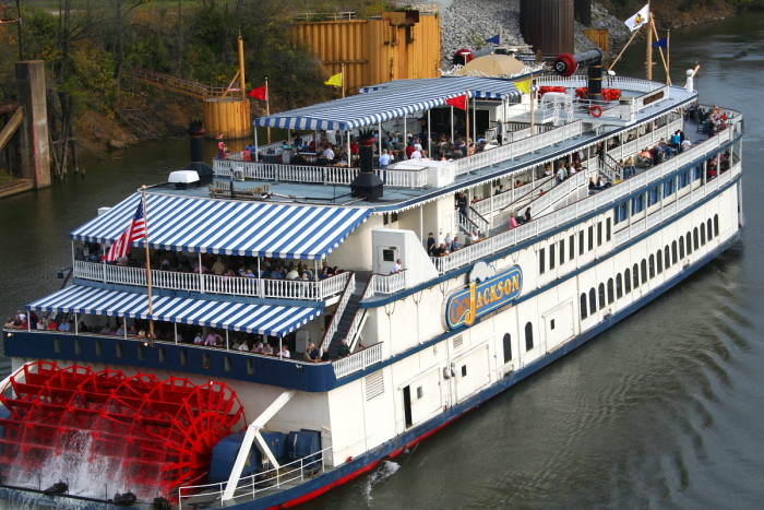 7) Cruise the River