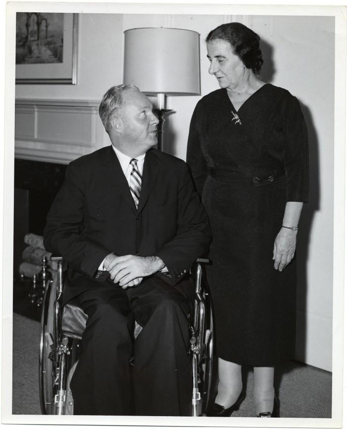 7. Golda Meir (Milwaukee)
