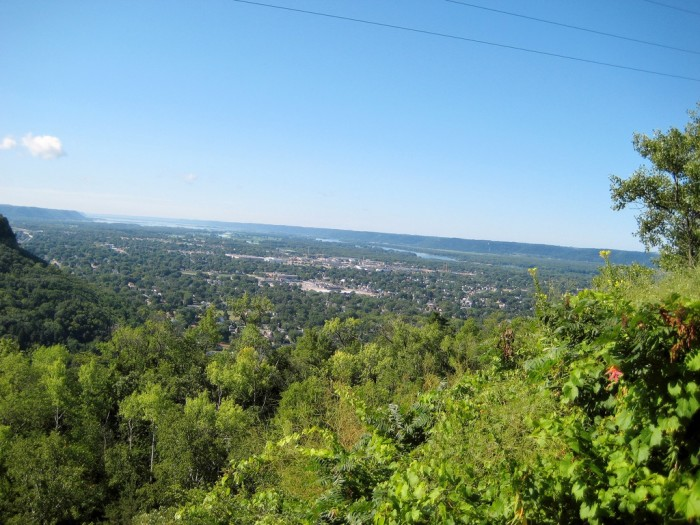 13. Grandad Bluff. Wisconsin isn't known for having views from way up high, but here you'll get some awesome views.