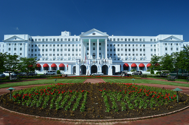 9) The Greenbrier Resort is located in Sulphur Springs, WV.