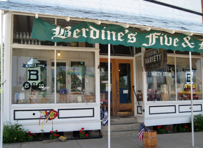 8) America's Oldest Five and Dime, located in Harrisville, WV!