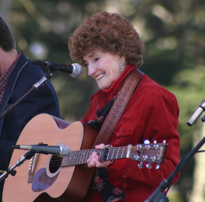 11) Hazel Jane Dickens, originating from Montcalm, WV, was a bluegrass singer and songwriter.