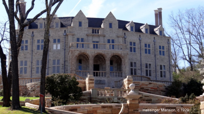 3.  Hassinger Castle (Birmingham, AL) - Built in 1929 by William and Virginia Hassinger, Hassinger Castle is located in Redmont Park and is privately owned.  It has also been totally restored.  I bet the interior is stunning!