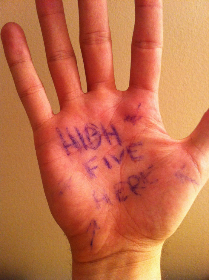 Most High Fives in One Hour