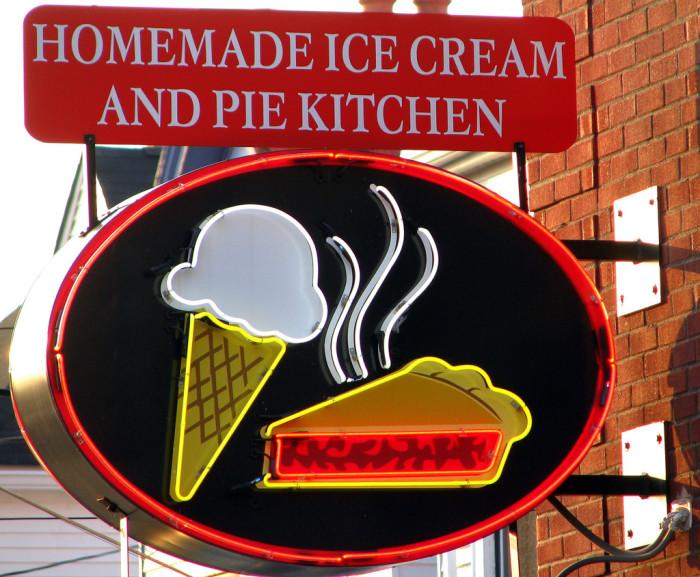2. Homemade Ice Cream And Pie Kitchen