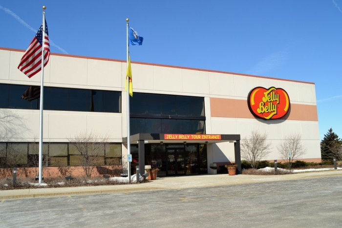 5. Jelly Belly Factory Tour (Pleasant Prairie). See how the best jelly beans are made. Take the free Jelly Belly express train.