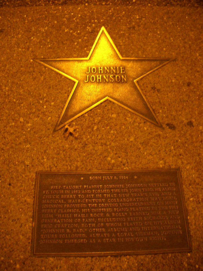 6) Johnnie Johnson, born in Fairmont, WV, was a blues musician and pianist.