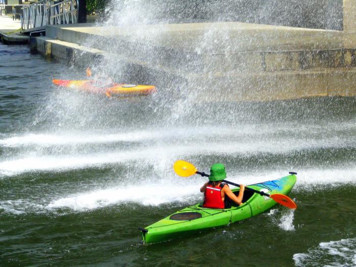9) Kayak Chattanooga