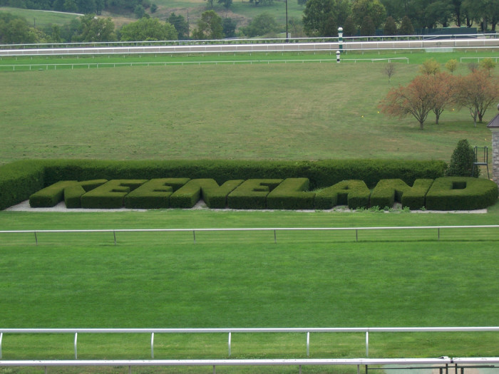 13. Watch the horses warm up during the early morning hours at Keeneland Thoroughbred Racetrack
