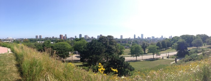 4. Kilbourn Park. This park is not only fantastic to walk around but also offers the best vantage point to see downtown Milwaukee. It's from here that you can take the best picture of the cityscape.