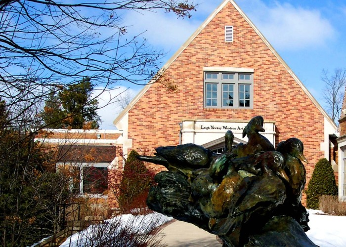 """13. Leigh Yawkey Woodson Art Museum (Wausau). Come see some stunning art. The museum is best known for its """"Birds in Art"""" exhibition, in which there are contemporary depictions of birds."""