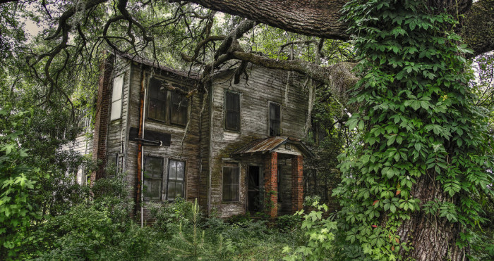 7. The Abandoned Mansion (Santee, SC)
