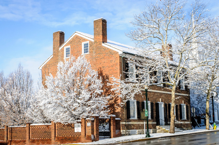 7. Mary Todd Lincoln House