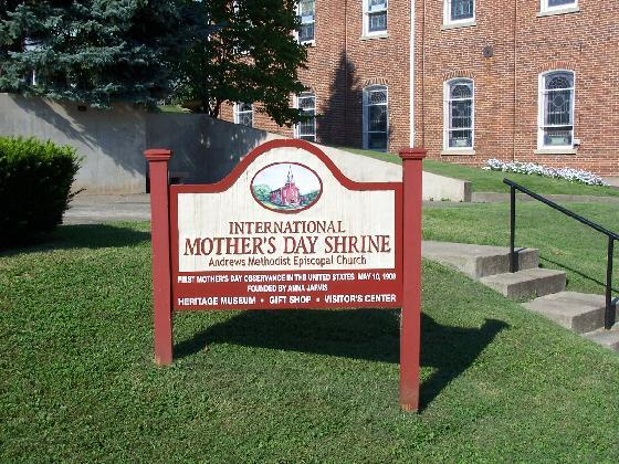 3) Mother's Day was first celebrated at Andrews Church in Grafton, WV, on May 10, 1908.