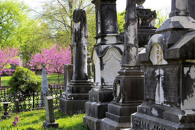 4. Mount Holly Cemetery - A visit here means walking among senators, war heroes, and governors...and locals say you can actually see their ghosts.